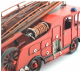 Handcrafted Tin Plate Model Fire Engine LP27283